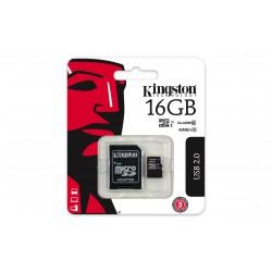 16GB microSDHC Kingston