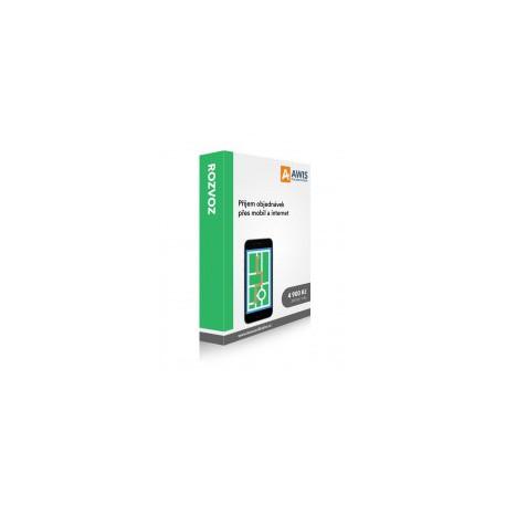Modul - AWIS mobile - rozvoz